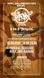 BAM Rock - 2 VS 2, Sweden
