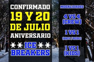 Aniversary Ice Breakers 2019
