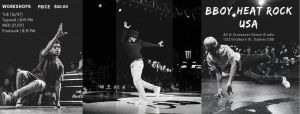 Bboy Heat Rock (USA) | Sydney Workshops 2019