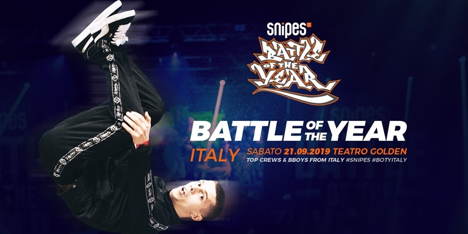 Snipes BOTY Italy 2019 poster