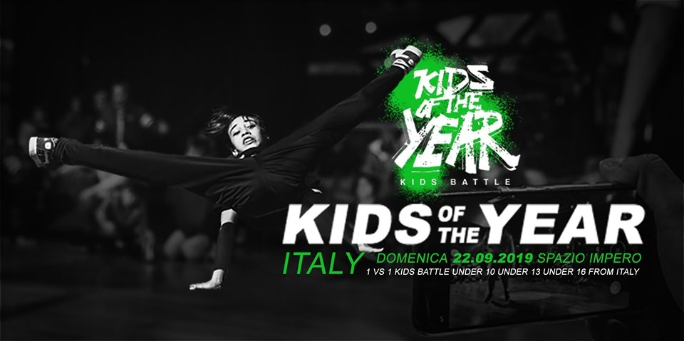 Kids of the Year Italy 2019 poster