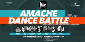 Amache Dance Battle 2vs2 Mixed Style 2019