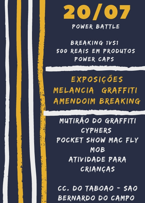 Power Caps Battle + Expo Melancia & Amendoim 2019 poster