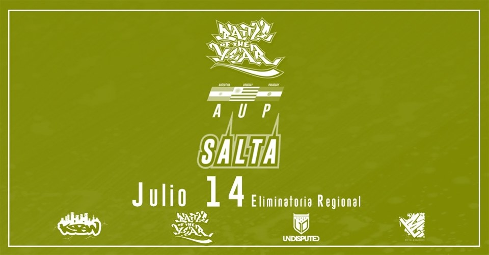 Battle of the Year AUP Salta 2019 poster