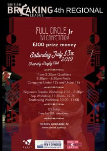 Full Circle Jr British Breaking League 2019