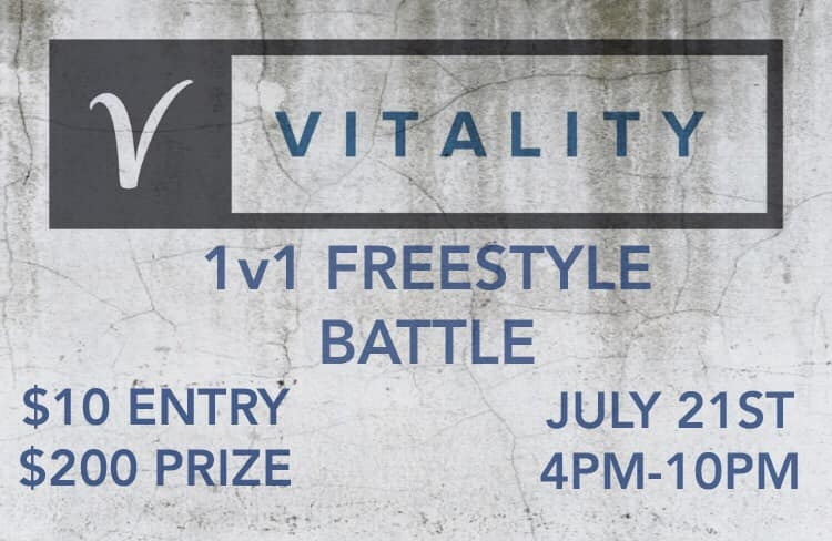 Vitality 1v1 Freestyle Battle! 2019 poster