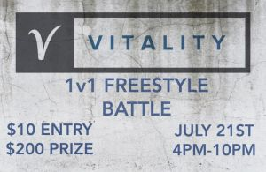 Vitality 1v1 Freestyle Battle! 2019