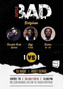 BATTLE BAD BELGIUM 2019