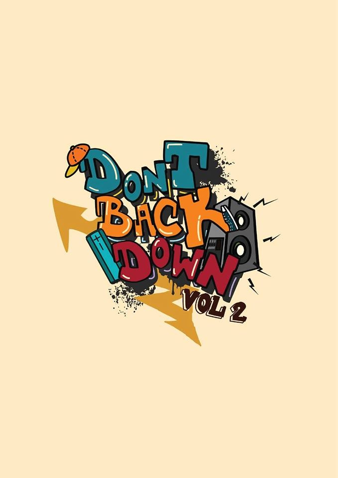 DON'T BACK DOWN 2019 poster
