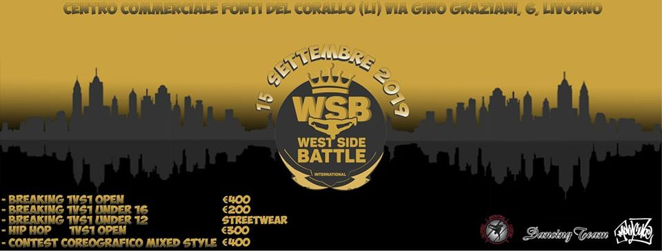 West Side Battle 2019 poster