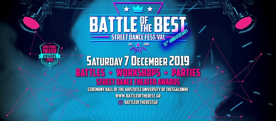 Battle of The Best Thessaloniki 2019 poster