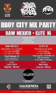 RAW Mexico - Elite16 - Pre Party Bbcmx 2019
