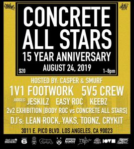 Concrete All Stars 15 Year Anniversary 2019