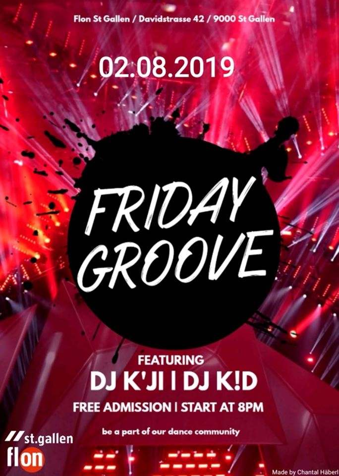 Friday Groove 2019 poster