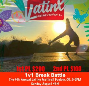 Breaking Battle at The Latino Festival 2019