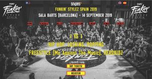 Snipes Funkin' Stylez Spain 2019