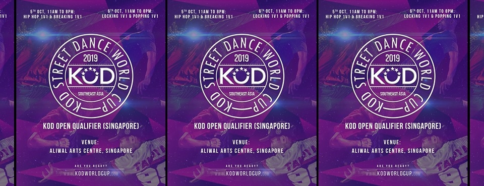 KOD 1v1 Open Qualifier Singapore 2019 poster
