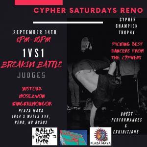 Cypher Saturday Reno 2019
