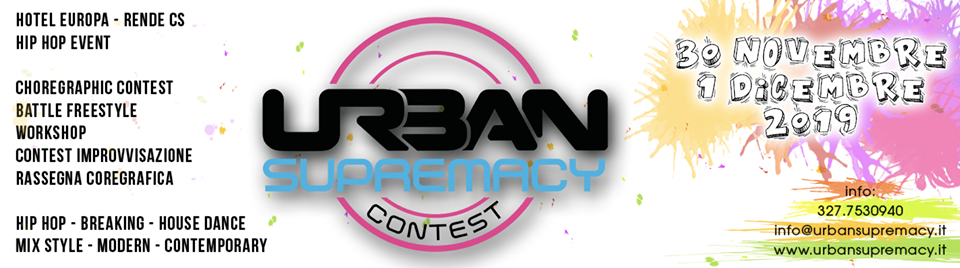 Urban Supremacy Contest 2019 poster