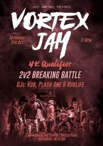 Vortex Jam UK Qualifier 2019