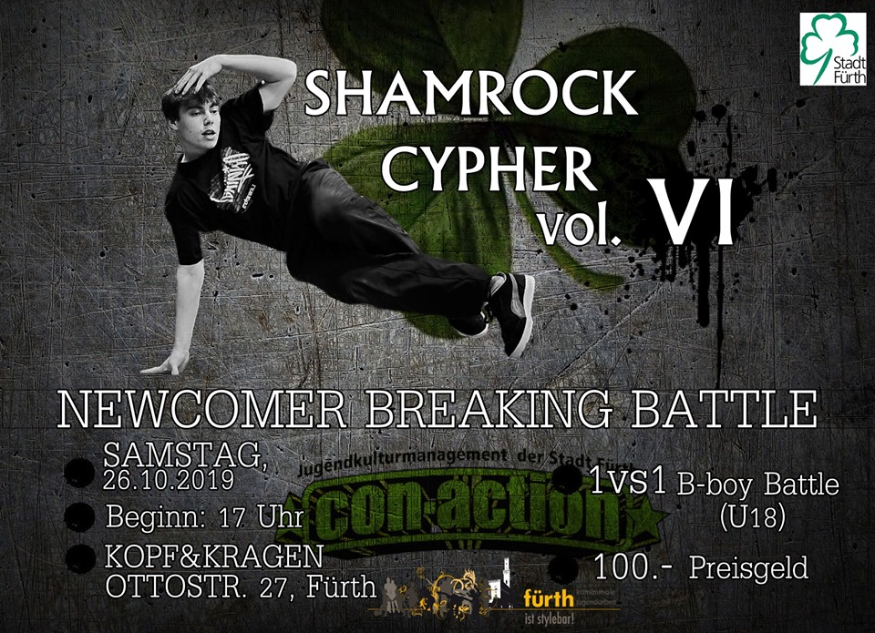 Shamrock Cypher 2019 poster