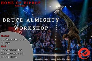 B-boy Bruce Almighty Workshop 2019