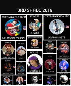 3rd Slovenian Hip-Hop Dance Convention & 10 y. of Funky Rockerz 2019