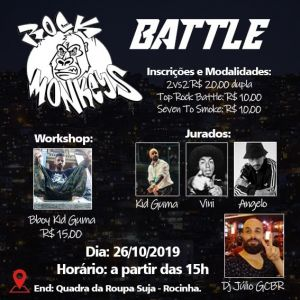 Rock Monkeys Battle 2019