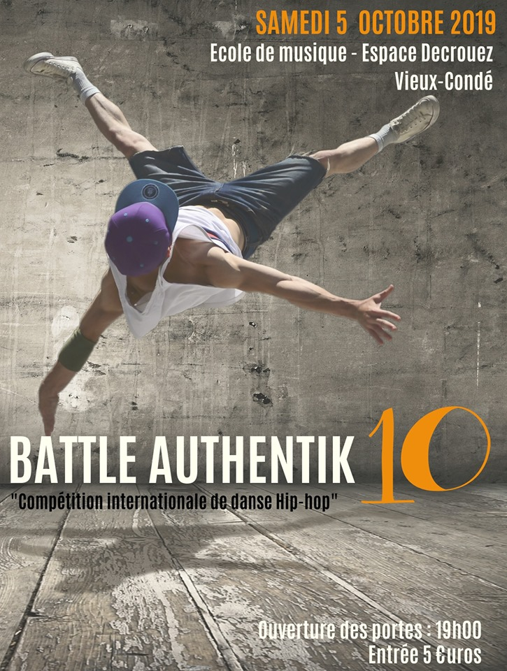 Battle Authentik 10 poster