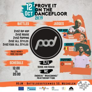Prove It On The Dancefloor 2019