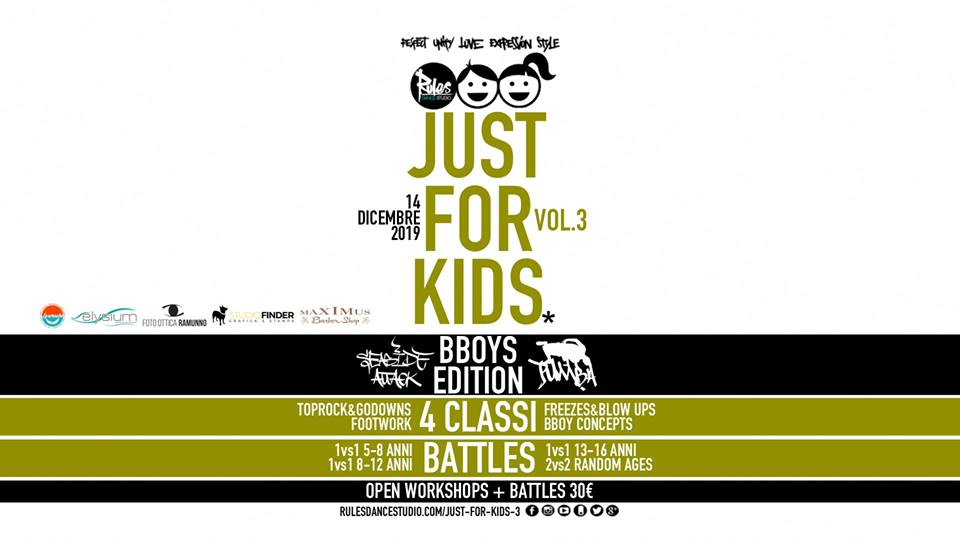 Just For Kids 2019 poster