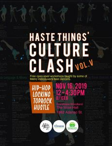 Haste Things' Culture Clash 2019