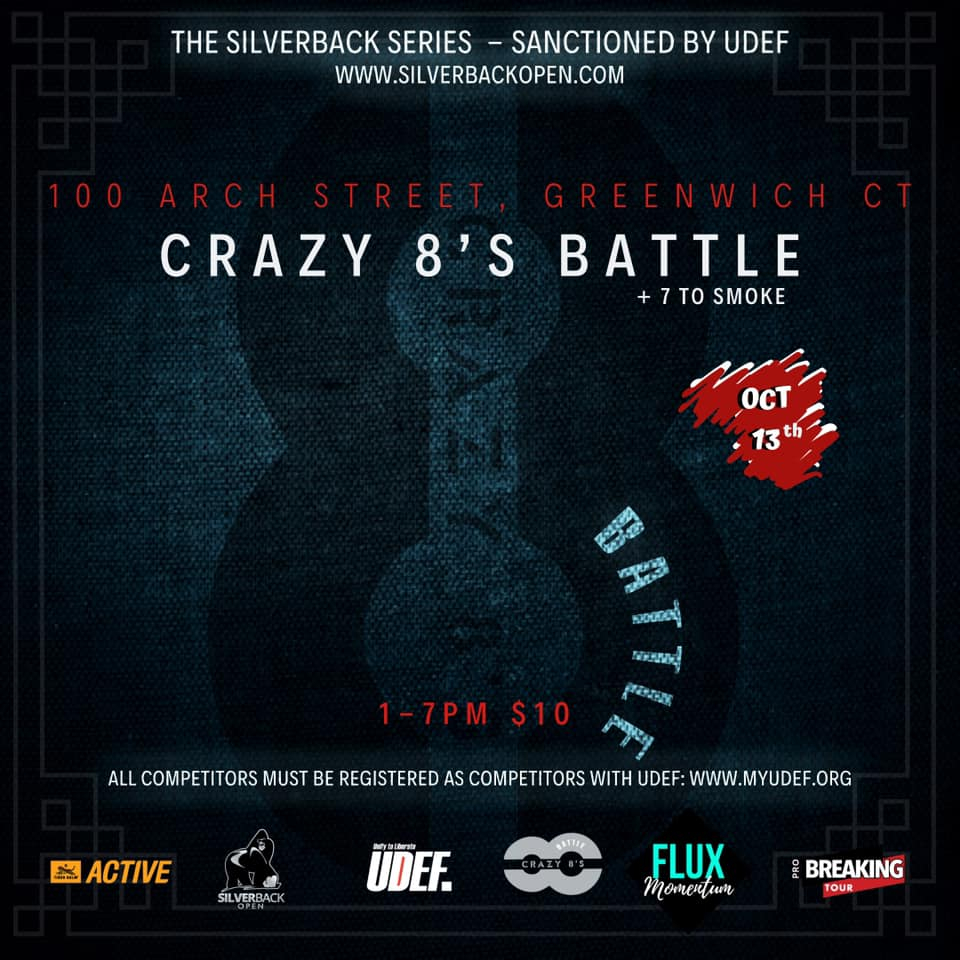Crazy 8's 2019 poster