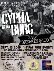 Cypha In Da Burg 2019