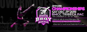 World Bboy Battle Championships 2019