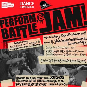 Top 8 Presents - Perform X Battle X Jam // Limerick City 2019