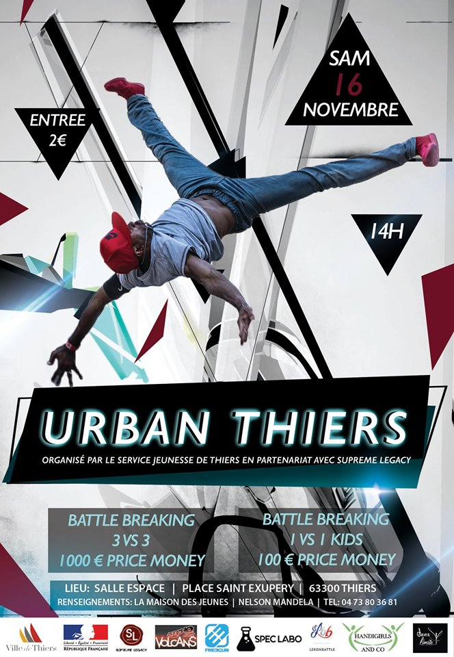 Urban Thiers 2019 poster