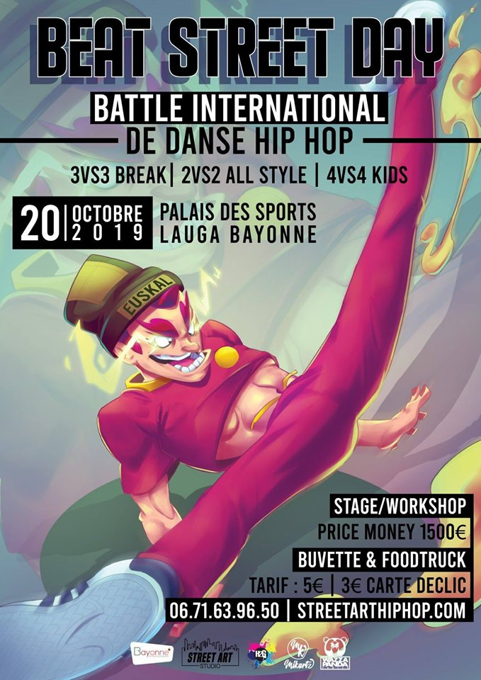 Beat Street Day Battle International Hip Hop 2019 poster