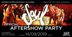 Soul 3 - Aftershow Party 2019