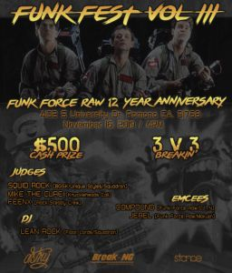 Funk Fest 3: Funk Force Raw 12 Year Anniversary 2019