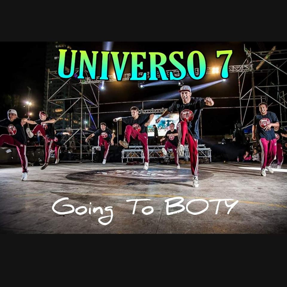 Universo 7 Going To BOTY 2019 poster