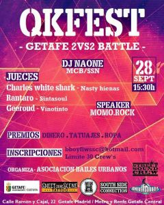 QKFEST Getafe 2vs2 Battle 2019