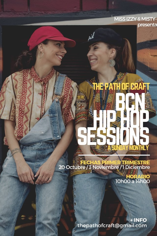 BCN HIP HOP Sessions 2019 poster