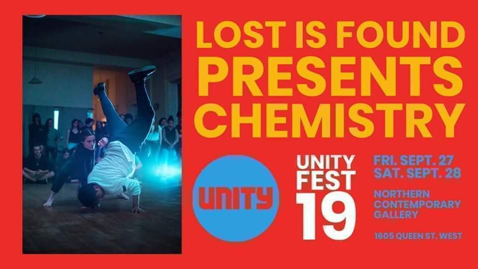Chemistry at Unity Fest 19 poster