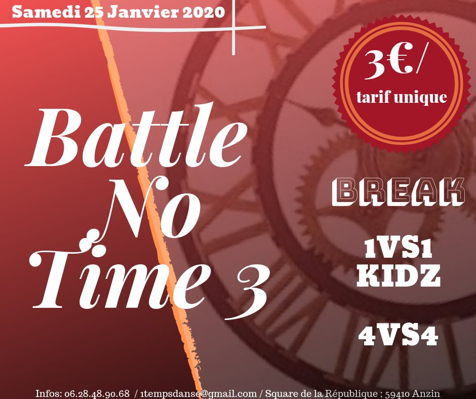 Battle No Time 2019 poster