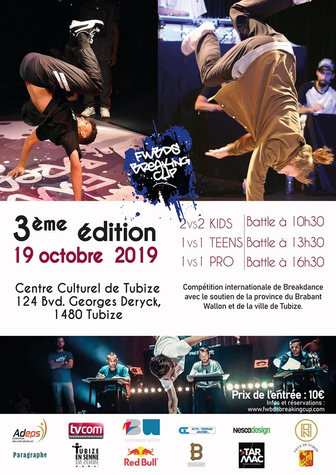 FWBDS Breaking Cup: Compétition de Breakdance 2019 poster