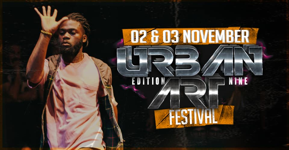 Urban Art Festival By Rhythm Naturals 2019 poster