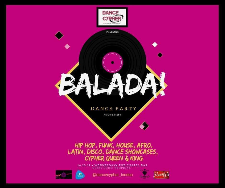 Dance Cypher Presents: Balada Party 2019 poster