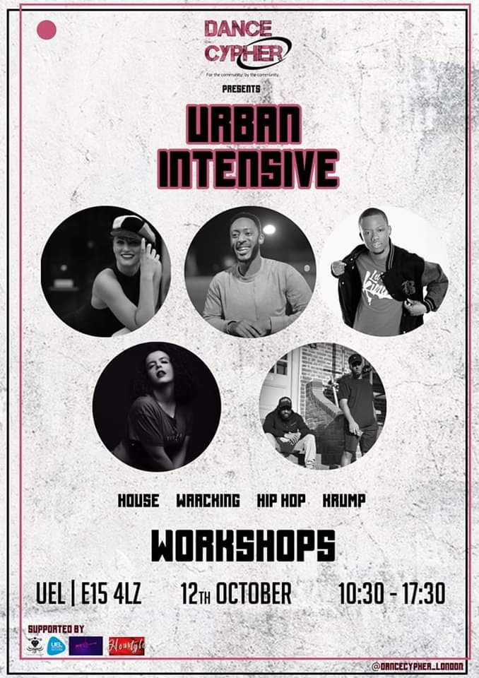 Dance Cypher presents: Urban Intensive 2019 poster