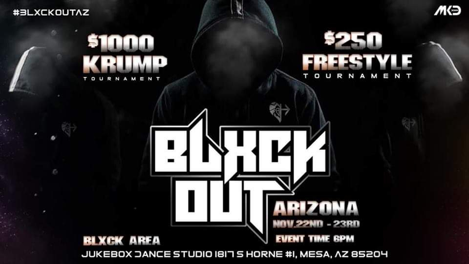 AZ BLXCK OUT 2 Day EVENT 2019 poster